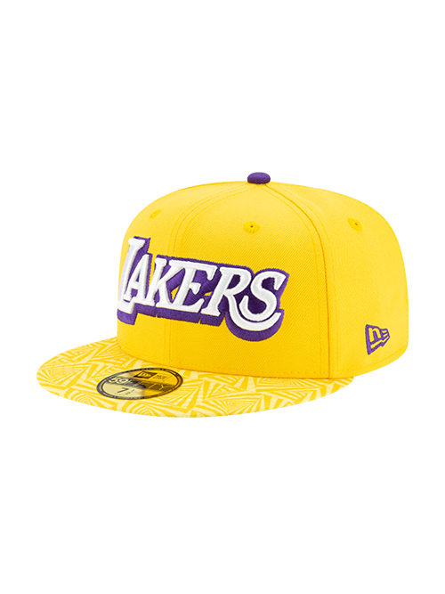 Los Angeles Lakers 59FIFTY City Edition Fitted Cap - Gold