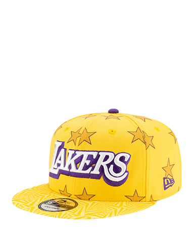 Los Angeles Lakers 59FIFTY 2Tone Fitted Cap - Purple/Gold