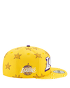 Los Angeles Lakers 9FIFTY City Edition Star Snapback Cap - Gold