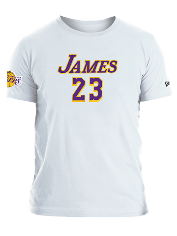 Los Angeles Lakers Alex Caruso Script T-Shirt