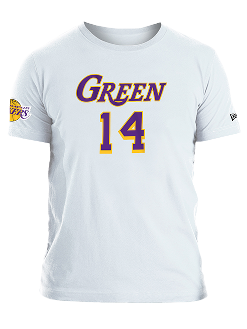 Los Angeles Lakers Danny Green Logo Flip T-Shirt