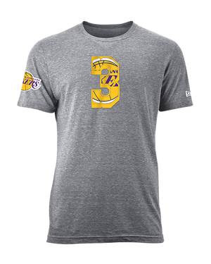 Los Angeles Lakers Anthony Davis Number Fill T-Shirt