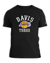 Los Angeles Lakers Kente Print Performance Short Sleeve Tee