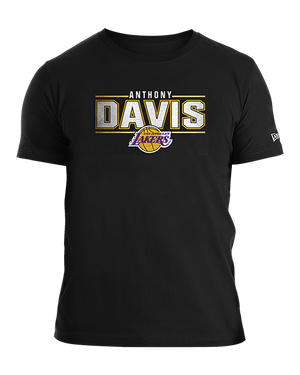 Distressed Name Anthony Davis Los Angeles Lakers Tee