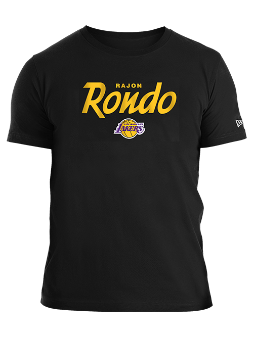 Los Angeles Lakers Rajon Rondo Script T-Shirt