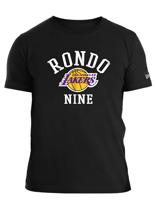 Los Angeles Lakers Rajon Rondo Jersey Number T-Shirt