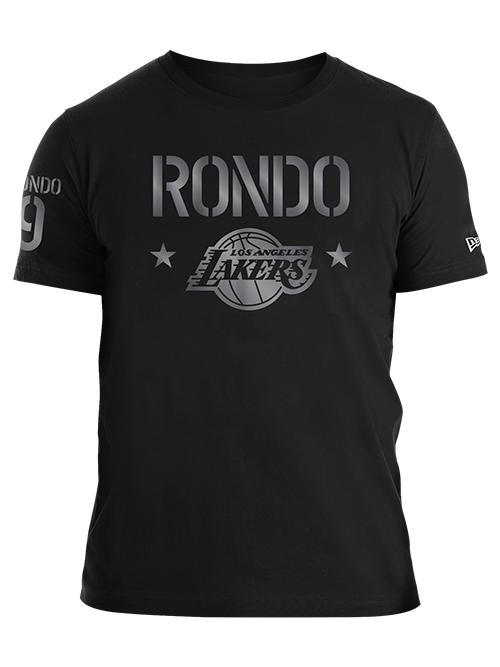 Los Angeles Lakers Rajon Rondo Gloss Military T-Shirt
