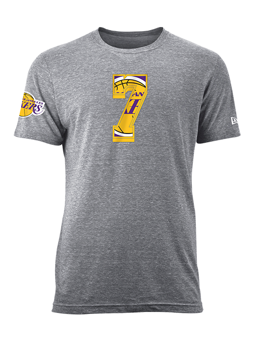 Los Angeles Lakers JaVale McGee Number Fill T-Shirt