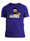 Los Angeles Lakers Youth City Edition LeBron James Player Tee - Gold