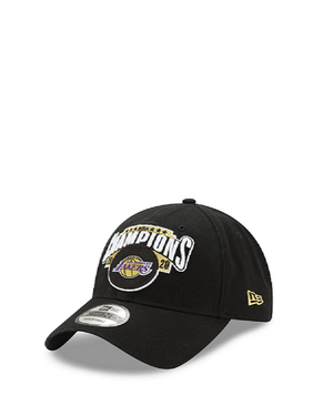 Los Angeles Lakers 2020 NBA Champions Locker Room 9TWENTY Adjustable Cap