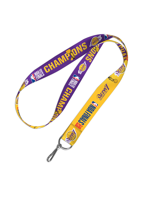 Los Angeles Lakers 2020 NBA Champions Lanyard