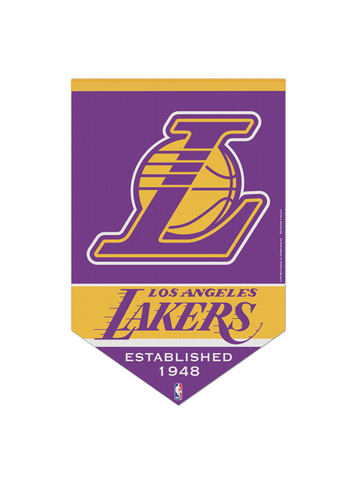 Los Angeles Lakers 17x26 Premium Quality Banner