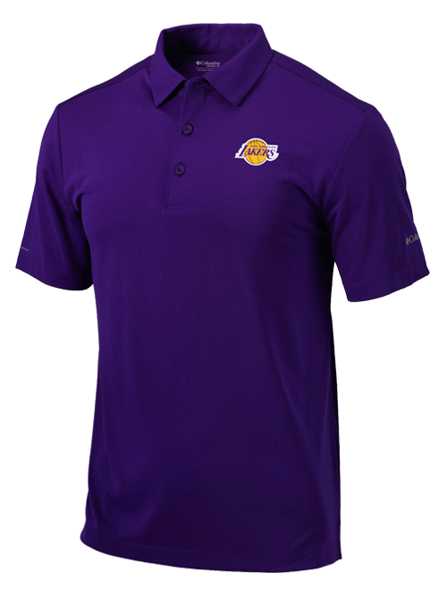 Los Angeles Lakers Purple Drive Polo