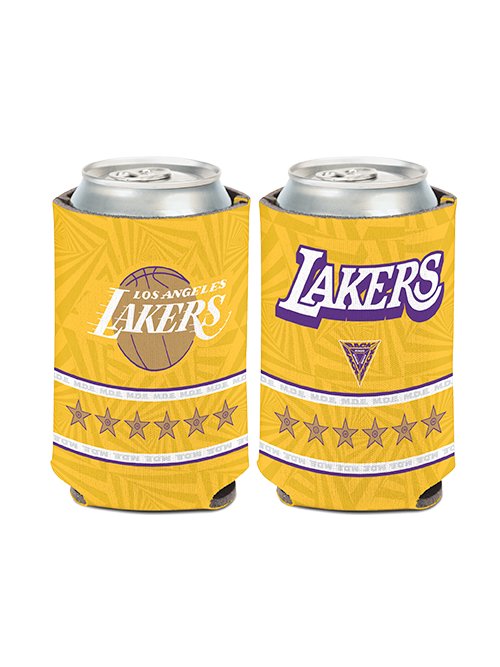 Los Angeles Lakers City Edition Can Cooler - Gold