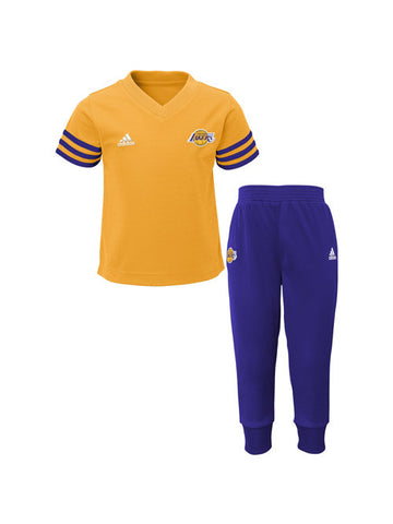 Los Angeles Lakers Kids Courtside Pant Set