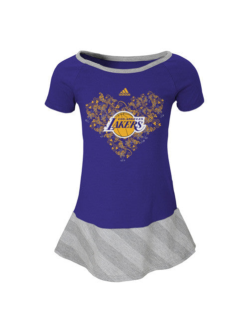 Los Angeles Lakers Toddler Girls Fancie Drop Waist Dress