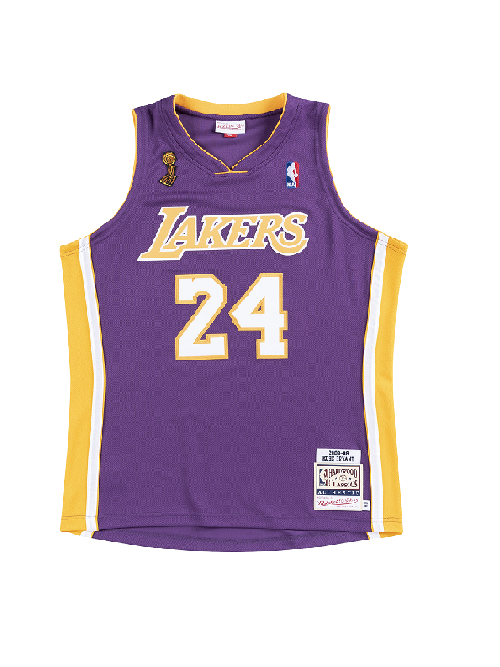 Los Angeles Lakers Kobe Bryant 2008-09 Authentic Road Jersey