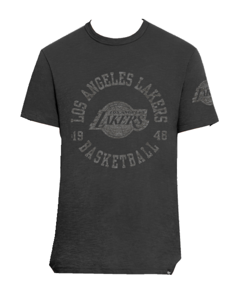 Los Angeles Lakers Two Peat Scrum- Charcoal