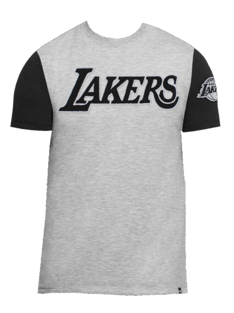 Los Angeles Lakers Triple Up Short Sleeve T-Shirt