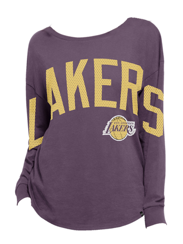 Los Angeles Lakers Women's Pep Squad Long Sleeve T-Shirt