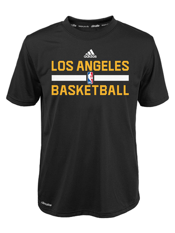 Los Angeles Lakers Youth On Court Practice Wear T-Shirt