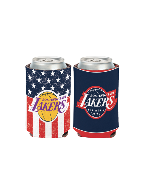 Los Angeles Lakers Stars and Stripes Can Cooler