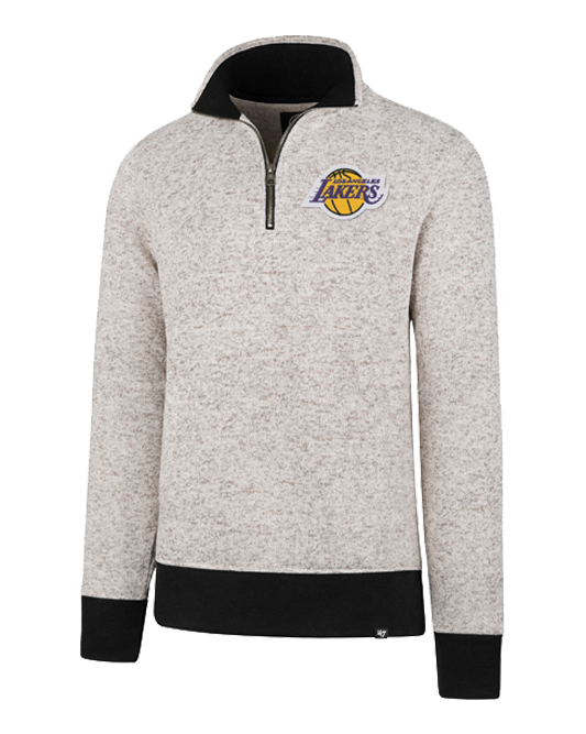 Los Angeles Lakers Kodiak Quarter Zip Fleece