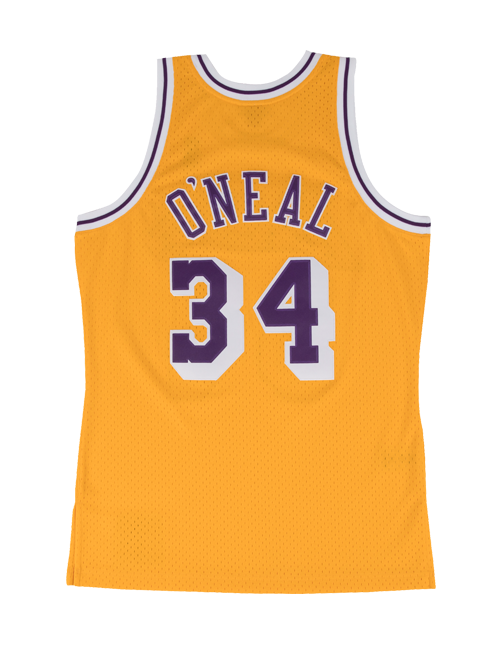 c49b33ca824a Los Angeles Lakers 96 Shaquielle O Neal Alternate Swingman Jersey