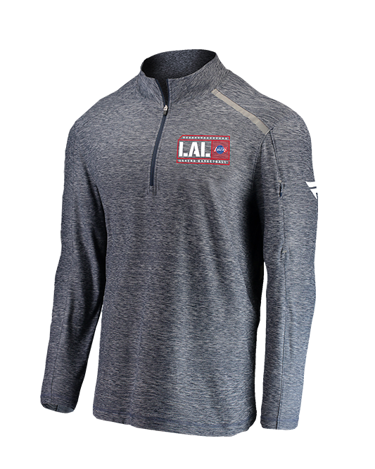 Los Angeles Lakers Hoops For Troops 2019 Quarter Zip