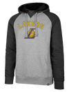 Los Angeles Lakers Headline Quarter Zip Pullover - Black