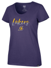 Los Angeles Lakers Drive Golf Polo - Grey