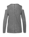 Los Angeles Lakers Fade Out Cold Shoulder Long Sleeve T-Shirt