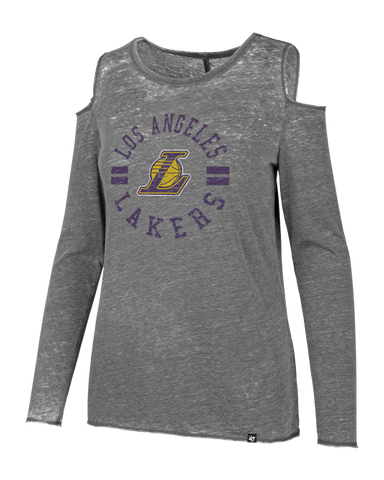 Los Angeles Lakers Phoebe Zeppelin T-Shirt - Black