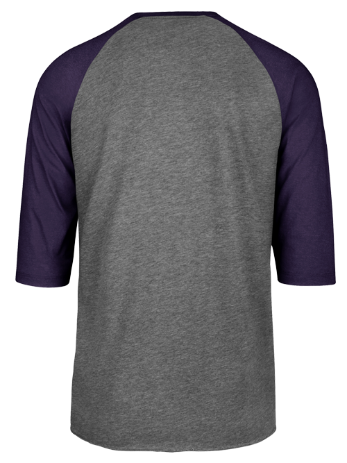 Los Angeles Lakers Round About Club Raglan Long Sleeve T-Shirt