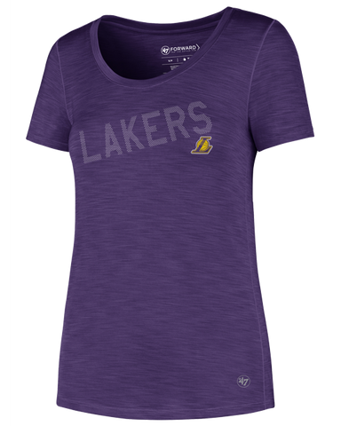 Los Angeles Lakers Women's Purple Practice T-Shirt