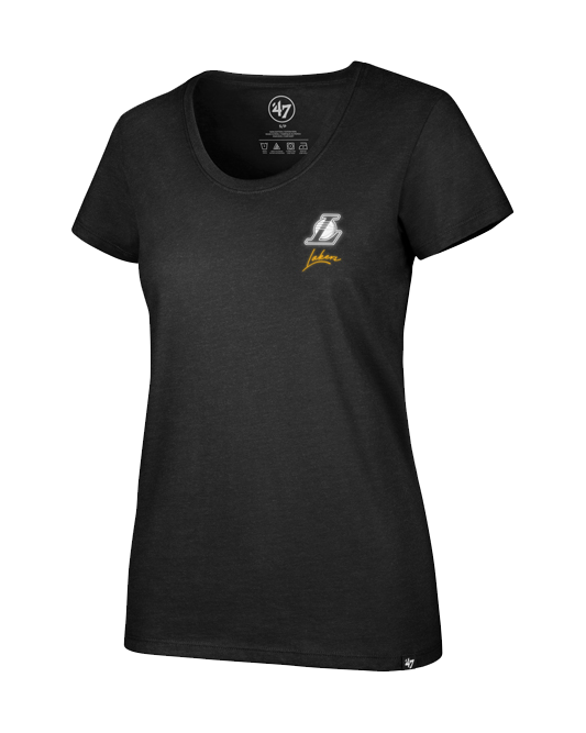 Los Angeles Lakers Women's Neon Backer Club T-Shirt