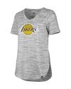 Los Angeles Lakers Women's Spandex Criss Cross T-Shirt