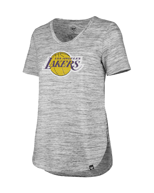 Los Angeles Lakers Women's Haze Split Hem T-Shirt