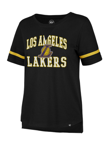 Los Angeles Lakers Women's Dri-FIT FNW RP Logo Short Sleeve Tee - Purple