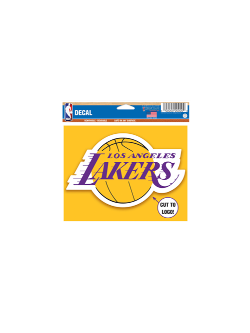 Los Angeles Lakers 5x6 Multi Use Clear Cut Decal