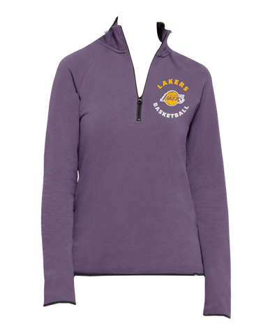 Los Angeles Lakers Women's HWC Glimmer Crew Sweatshirt