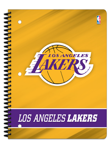 Los Angeles Lakers One Subject Notebook