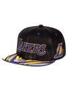 Kobe Bryant 9FIFTY Gold & Purple Retirement Patch Snapback Cap
