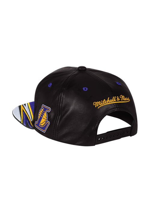 Los Angeles Lakers Wordmark Rapid Snapback Cap