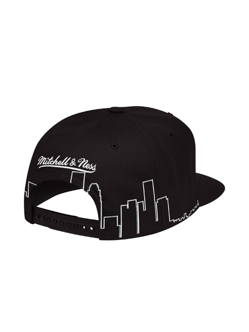 Los Angeles Lakers City Scape Snapback Cap