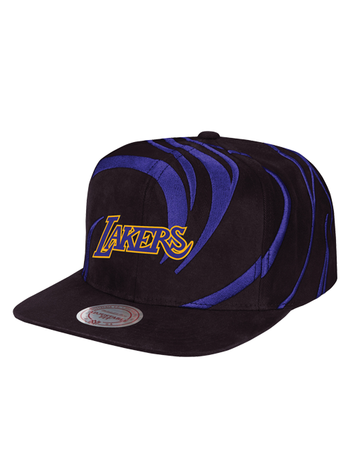 Los Angeles Lakers Hardwood Classic Hurricane Snapback Cap 7e7841bc63e