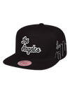 Los Angeles Lakers Script City Snapback Cap