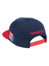 USA Basketball 1992 Dream Team Script Snapback Cap - Navy/Red