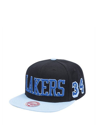 Los Angeles Lakers City Champs Snapback Cap - Purple