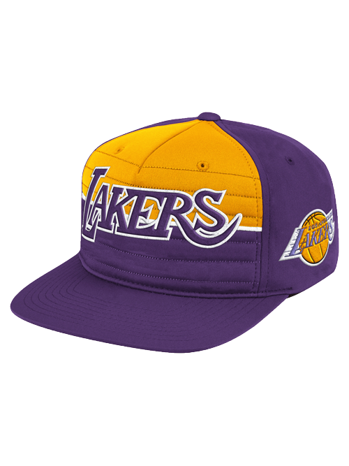 Los Angeles Lakers NBA Jersey Snapback Cap